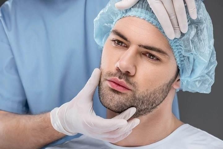 مراحل پیوند و کاشت موی ریش
